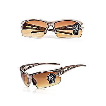 Sun protection golden high-quality cycling s-proof glasses outdoor sports cycling equipment dt5221