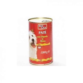 Υγρό κόκκινο δοχείο τροφίμων (1