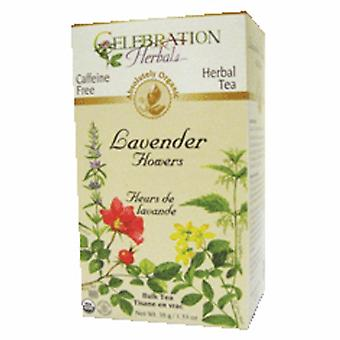 Celebration Herbals Organic Lavender Flowers Tea, 38 grams