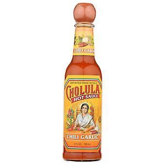 Cholula Sauce Hot Chili Garlic, Case of 12 X 5 Oz