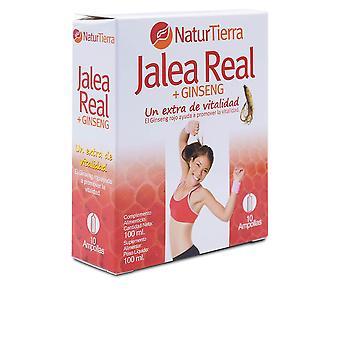 Naturtierra Jalea Real + Ginseng 10 Ampollas Unisex