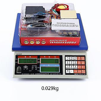 Sistema de alarme scooter segurança de bloqueio do motor 2 controle remoto antirroubo ciclomotor