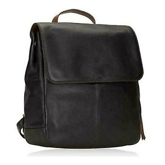 Fossil Claire Black Leather Backpack SHB1932001