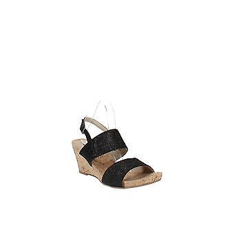White Mountain   Alexus Slingback Platform Wedge Sandals