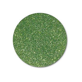 SISTA FÅ - Single Light Green A4 Sheet Glitter Card för hantverk   Färgat kort för hantverk