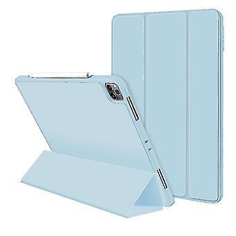 iPad Pro 11 tuuman suojakansi, vahva magneettinen taitoskansi (VAALEANSININEN)