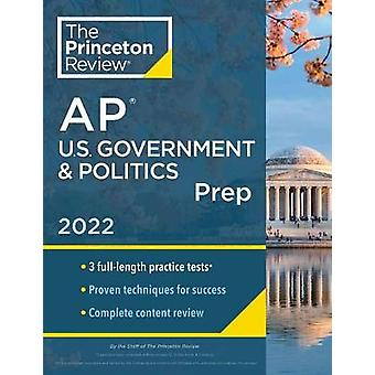 Princeton Review AP U.S. Gobierno &Preparado político 2022