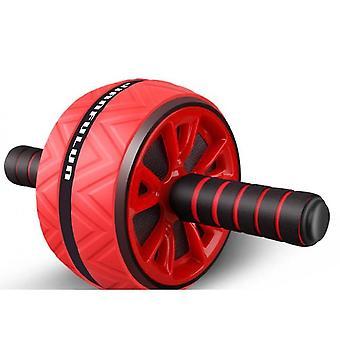 الأسطوانة اللياقة البدنية كيت الرئيسية قوي Abs الأسطوانة الصالة الرياضية محفز البطن(الأحمر)