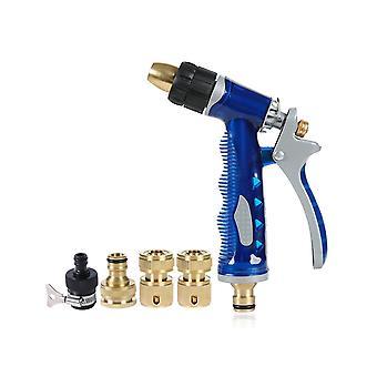 Sea Blue Water Gun Set High Pressure Car Wash Water Gun Set Household Car Wash Water Gun Car Wash
