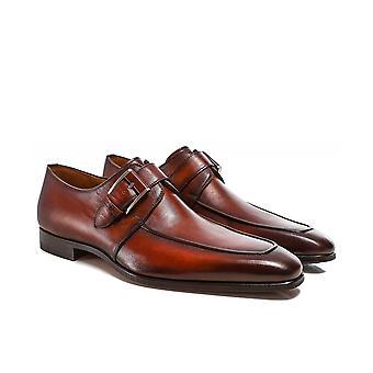 ماغناني أحذية الراهب الجلدية