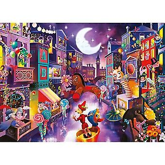 1000 Tablets Puzzle Jigsaw Festive Puppet City Educational Learning Toy Boy Girl