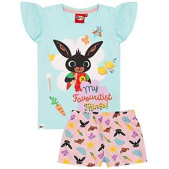 Bing Bunny Girls My Favouritist Things Short Pyjama Set