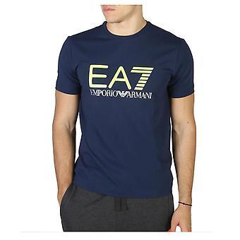 Men's Short Sleeve T-Shirt Armani Jeans 6ZPT62 PJ20Z C1554 Navy
