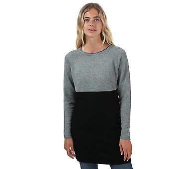 Women: n ainoa Lillo Colourblock jumper mekko harmaa