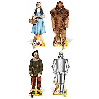 The Wizard of Oz Set of 4 Lifesize Cardboard Cutout Collection