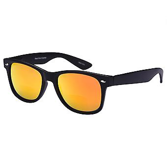 """""""Lovin Rays"""" Classic Polarized Nearly Invisible Line Bifocal Sunglasses for Men and Woman - Solar Orange - 3.00"""