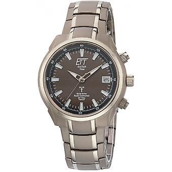 ONE (Eco Tech Time) Grey Titanium OJ-11340-61M Men's Watch