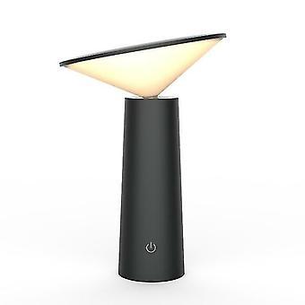 Night lights ambient lighting led dimmable eye protect desk light black