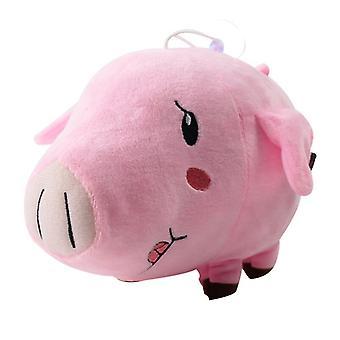 12cm Les sept péchés mortels Jouet en peluche Meliodas Ban Hawk Pig Dragon's Wrath Fox's Greed Soft Stuffed Animal Doll