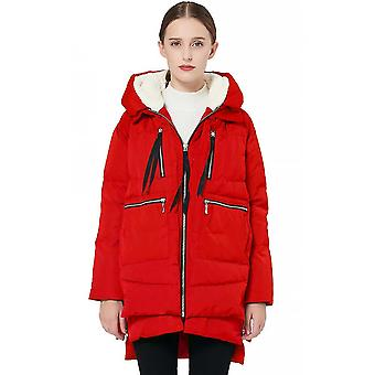 Women's Thickened Down Jacket Warm Mid-length Cotton Jacket