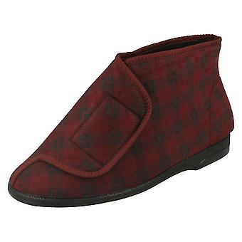 Mens Balmoral Slipper Boots VB P7251
