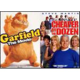 Fox 2Pak - Garfield the Movie/Cheaper by the Dozen [DVD] USA import
