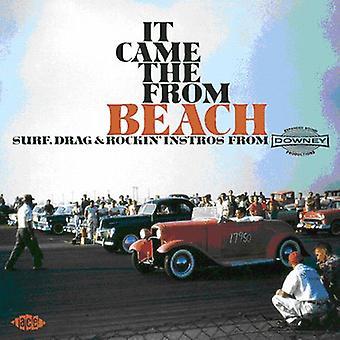 Il venait de la plage - import USA de Downey [CD] de Surf Drag & Rockin' Instro