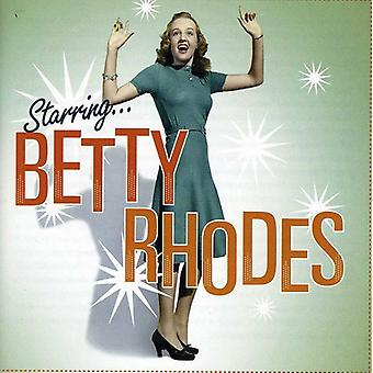 Betty Rhodes - Starring Betty Rhodes [CD] USA import
