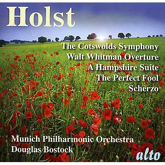 G. Holst - Holst: Cotswolds Symphony; Walt Whitman Overture; a Hampshire Suite [CD] USA import