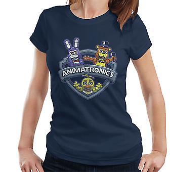 Animatronics Maniacs One Night At Freddys Women's T-Shirt