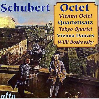 Octuor de Vienne - Schubert: Octuor Quartettsatz Vienne [CD] USA import