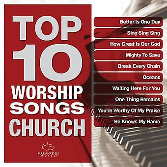 Maranatha Music - Top 10 Worship Songs: Church [CD] USA import