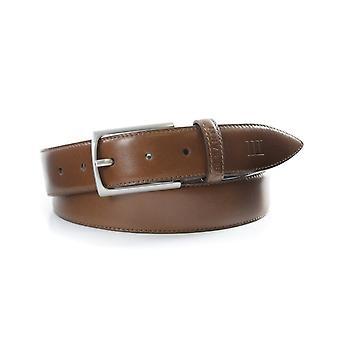 Tresanti Cognac Brown Mens Italian Leather Belt