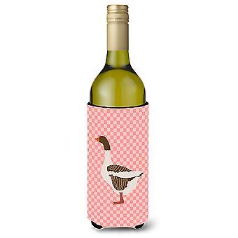 Pomeranian Rogener hanhi Pink tarkistaa viinipullo Beverge eriste Hugger
