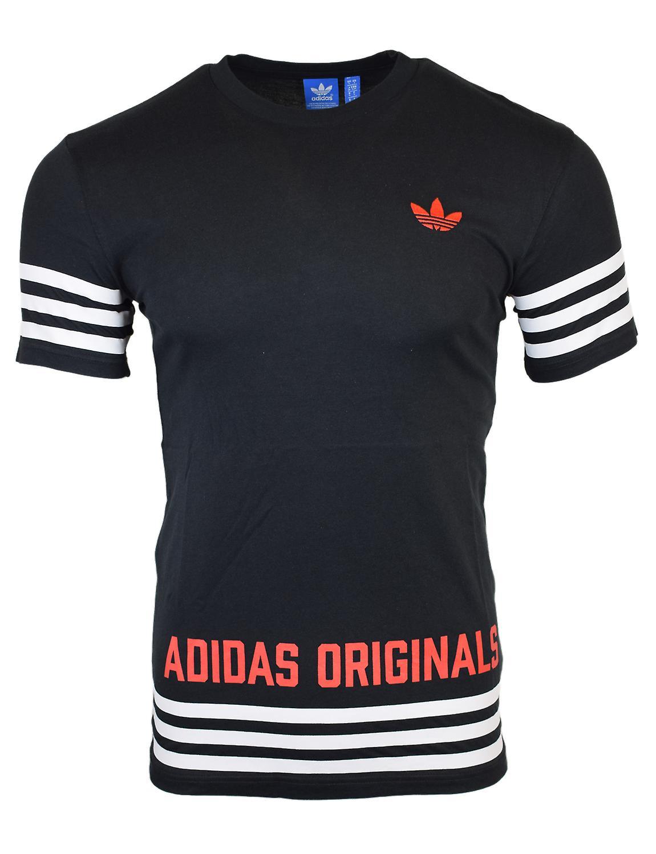 Adidas Originals Herre sort Street GRP T Shirt AZ1141