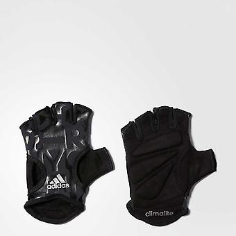 ADIDAS climalite womens graphic training gloves [black]
