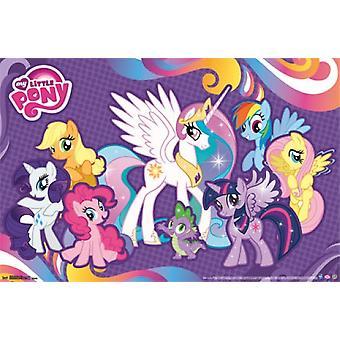 My Little Pony - vänner affisch Skriv