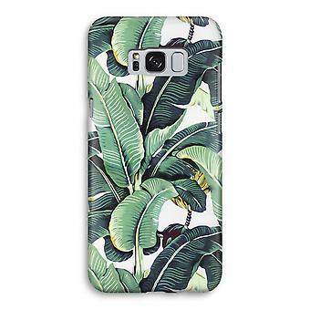 Samsung Galaxy S8 volledige Print geval (Glossy) - bananenbladeren