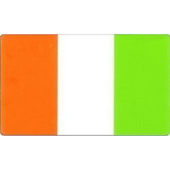 W4 Irish Flag Rectangle Sticker