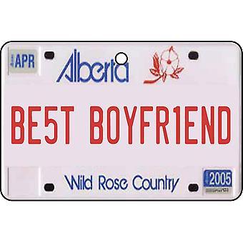 Alberta - bedste kæreste nummerplade bil luftfriskere