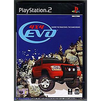 4 X 4 evolution (PS2)-fabriken förseglad