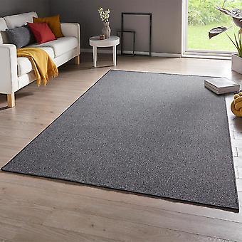 Carpet casual of grey uni-mix fine loops