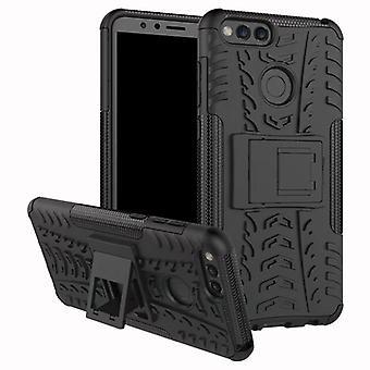 Hybrid tilfelle 2 stykke Koczian utendørs svart for Huawei honor 7 X etuiet dekke beskyttelse