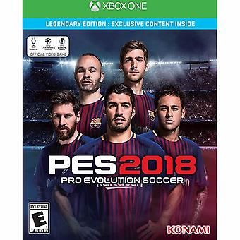 Pro Evolution Soccer PES 2018 - Legendary Edition Xbox One Video Game