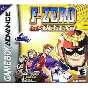 F-ゼロ GP 伝説の GBA のゲーム (ゲームの男の子の前進)