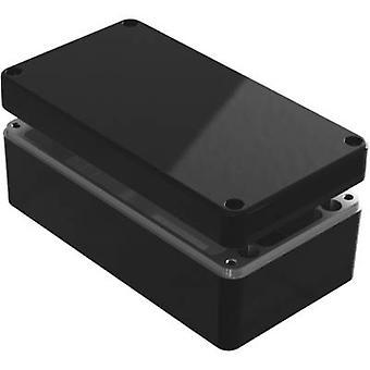 Recintos de Deltron 487-221209B-68 Caja Universal 220 x 120 x 90 aluminio azul 1 PC