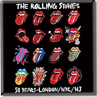 Rolling Stones язык эволюции стали Холодильник магнит