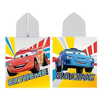 Toalha poncho esponja carros Disney pela Caleffi