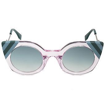 فيندي موجات فراشة النظارات الشمسية FF0240S 35J 9K 47