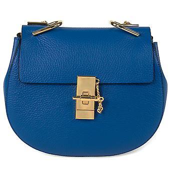 Chloe Drew laukku | Sininen kulta Hardware | Normaali